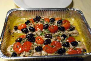 Filetti di Tonnetti in forno alla pizzaiola