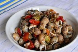Maruzzelle o Lumachine di Mare in umido