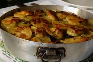 Tiella di Patate e Carciofi