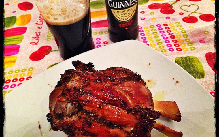 Stinco di maiale alla Guinness