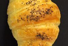 Croissant salati con lievito madre
