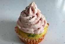 Cupcakes salati con zucchine e mousse di prosciutto