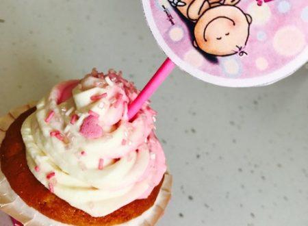 Cupcakes ai lamponi e cioccolato bianco con camy cream