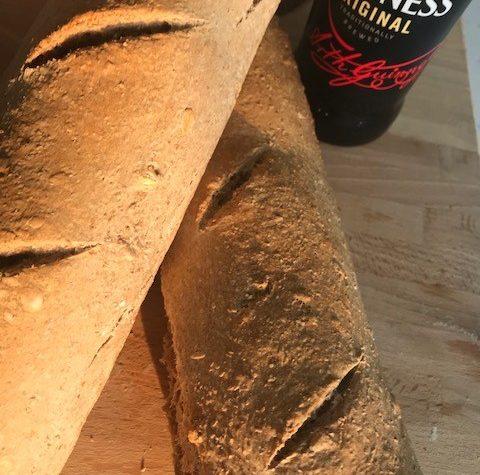 Pane alla Guinness (con lievito madre)