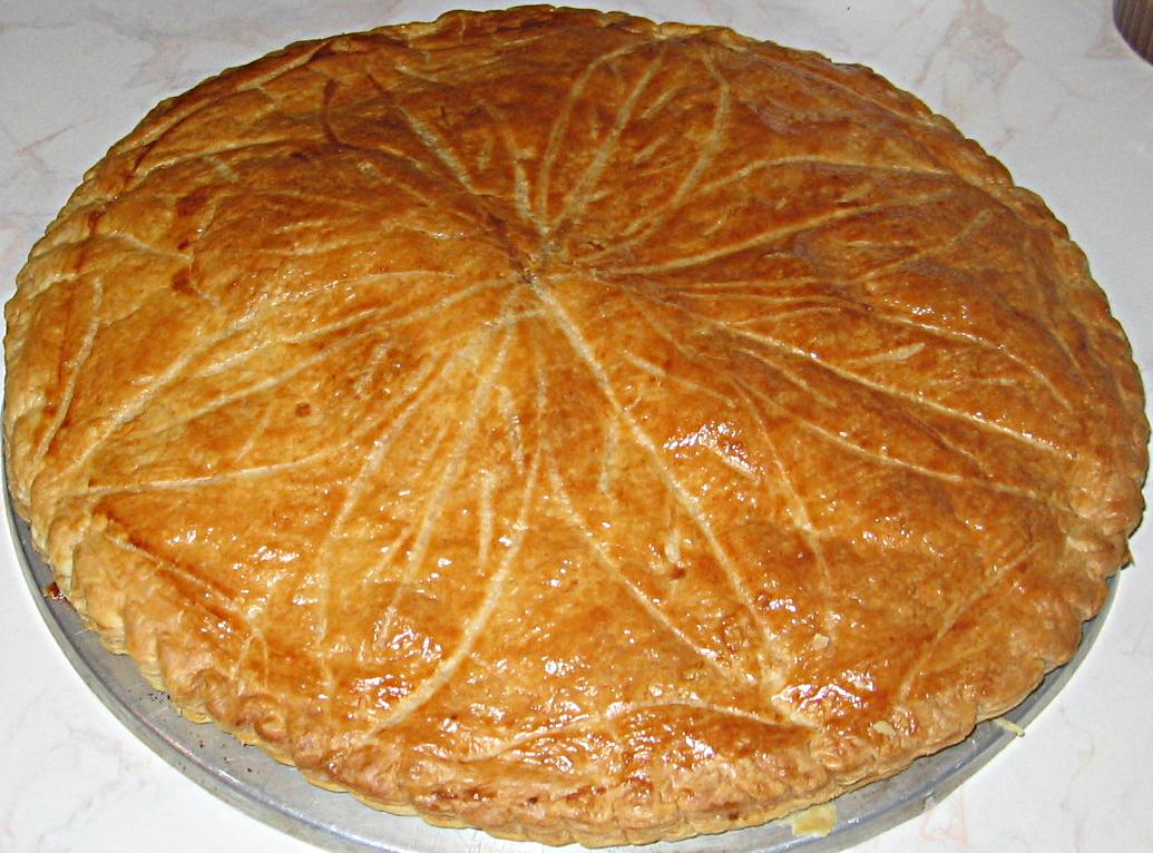 LA GALLETTE DES ROIS (torta francese)