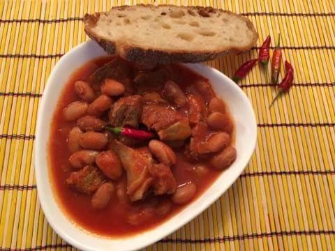 FASOLADA ricetta brasiliana rivisitata piccante  con brio