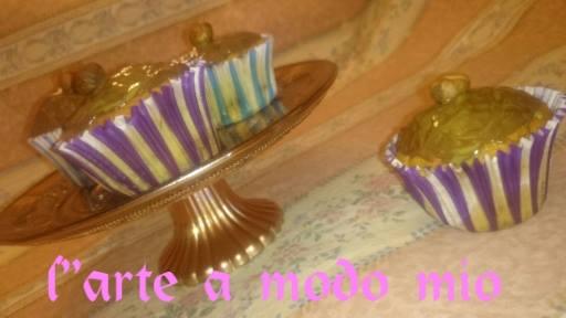 cupcake alle creme cioccolato e pistacchio