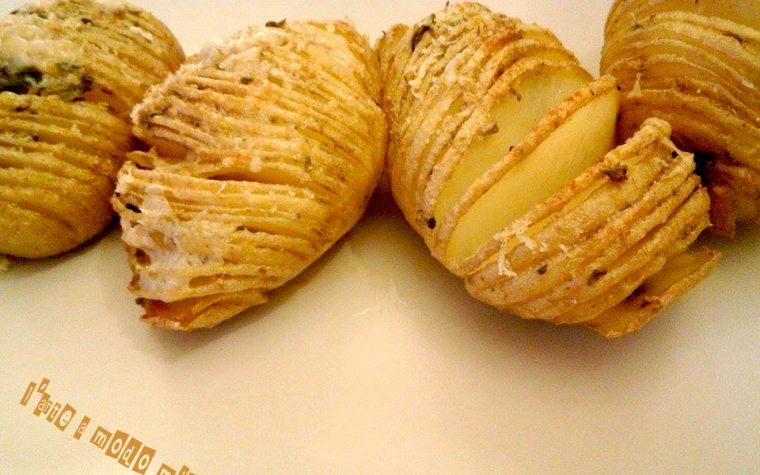 PATATE HASSELBACK cottura gustosa e originale