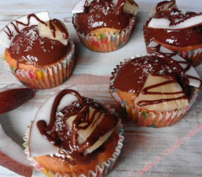 cupcakes cocco ananas e ciocofondenteu