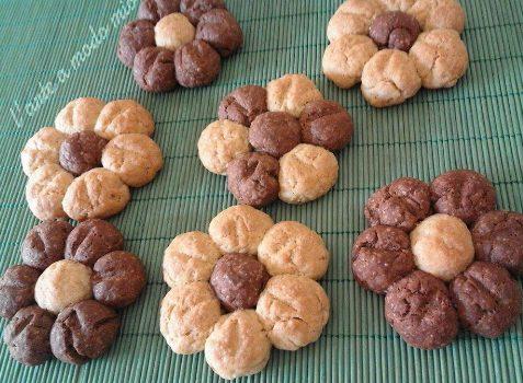 Margherite al cacao con farina kamut - Faraoni casalinghi ...
