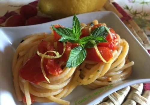 spaghetti all'amalfitana
