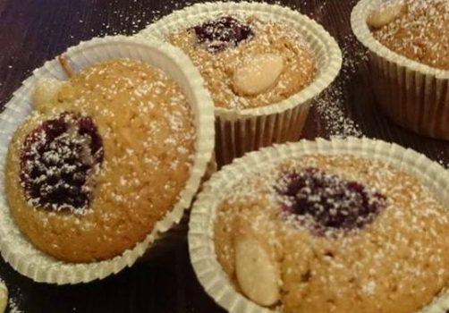 muffin integrali con latte d'avena