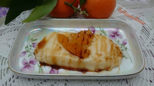 creme caramel alle clementine