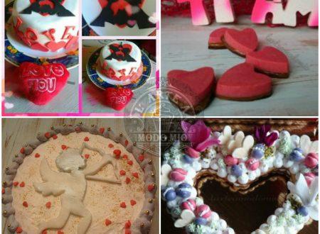 SAN VALENTINO dolcissime idee fatte col cuore