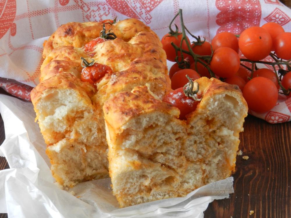 pane rustico alla pizzaiola