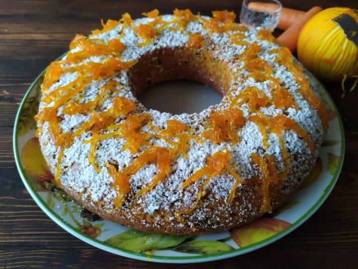dolce arancia e carote