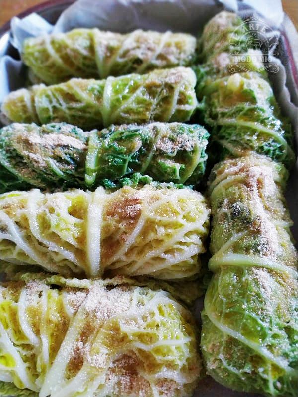 involtini di verza ripieni di patate