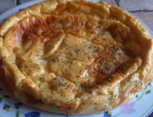 Torta di Pure' di Patate con Taleggio