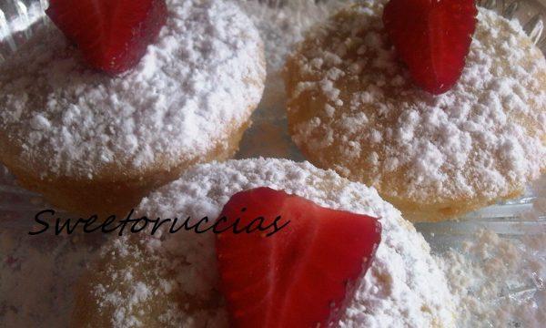 Muffin alle Fragole Fresche
