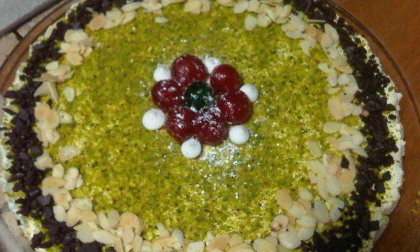 Cheesecake Yogurt e Frutta secca