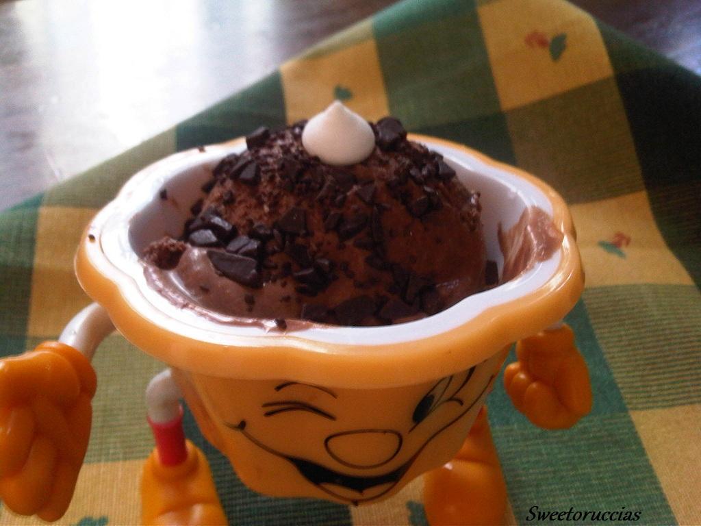 Gelato al Cioccolato e Cannella senza Gelatiera