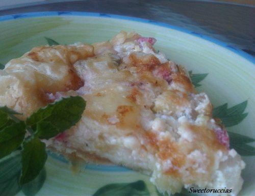 Torta Rustica Zucchine e Fiocchi di Latte
