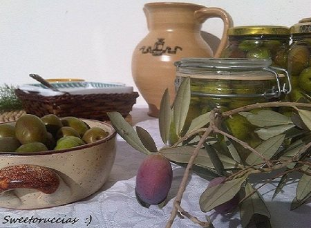 Olive Fresche in Salamoia