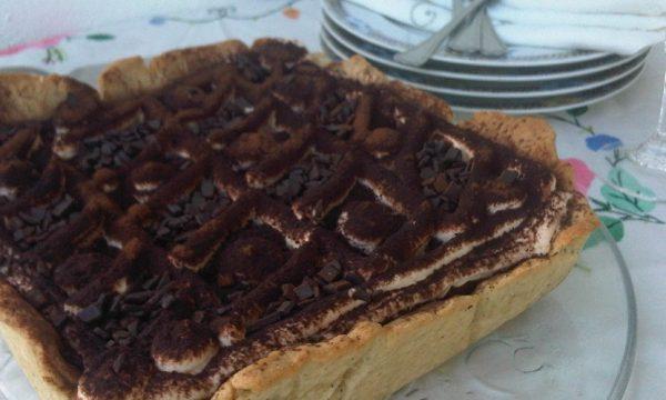 Cestino di Pasta Frolla al Caffè al Tiramisù