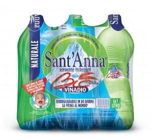 Acqua Minerale Naturale Sant 'Anna e SanThè