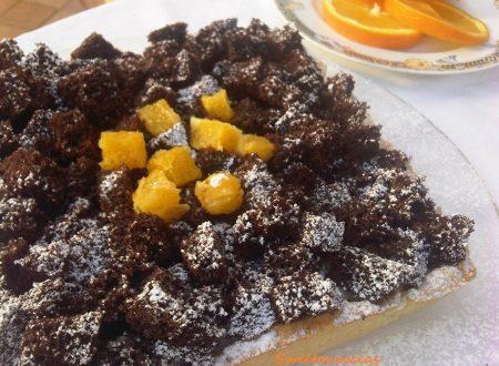 Crostata con Crema Pasticcera all'Arancia