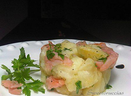 Insalata di Patate con Salmone Affumicato al Profumo di Limone