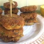 Polpette di Patate e Zucchine Verdi Fritte