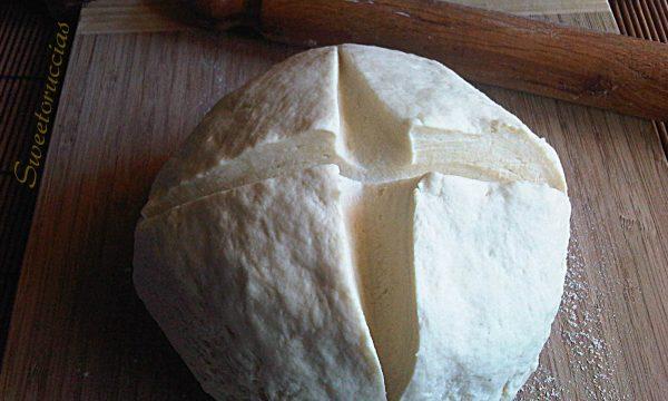 Impasto base per pizza con farine miste