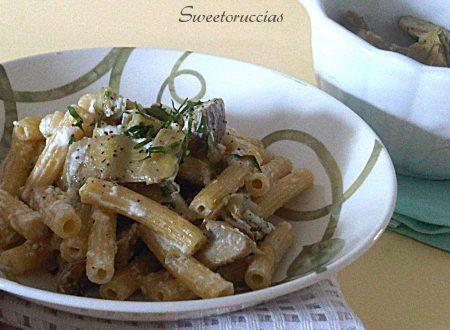 Pasta con ricotta e carciofi ricetta sfiziosa