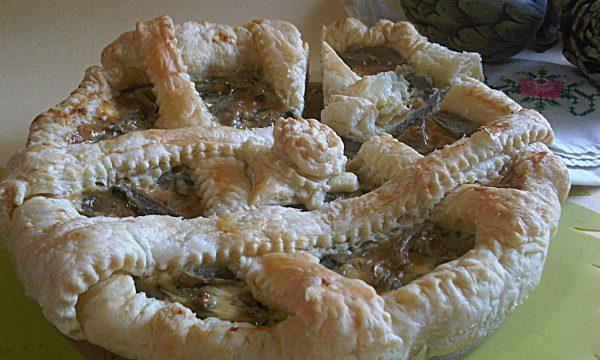 Crostata salata ai carciofi ricetta gustosa