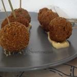 Polpettine di carne ed uova sode ricetta finger food