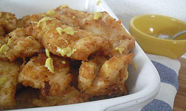 Pollo fritto alla senape