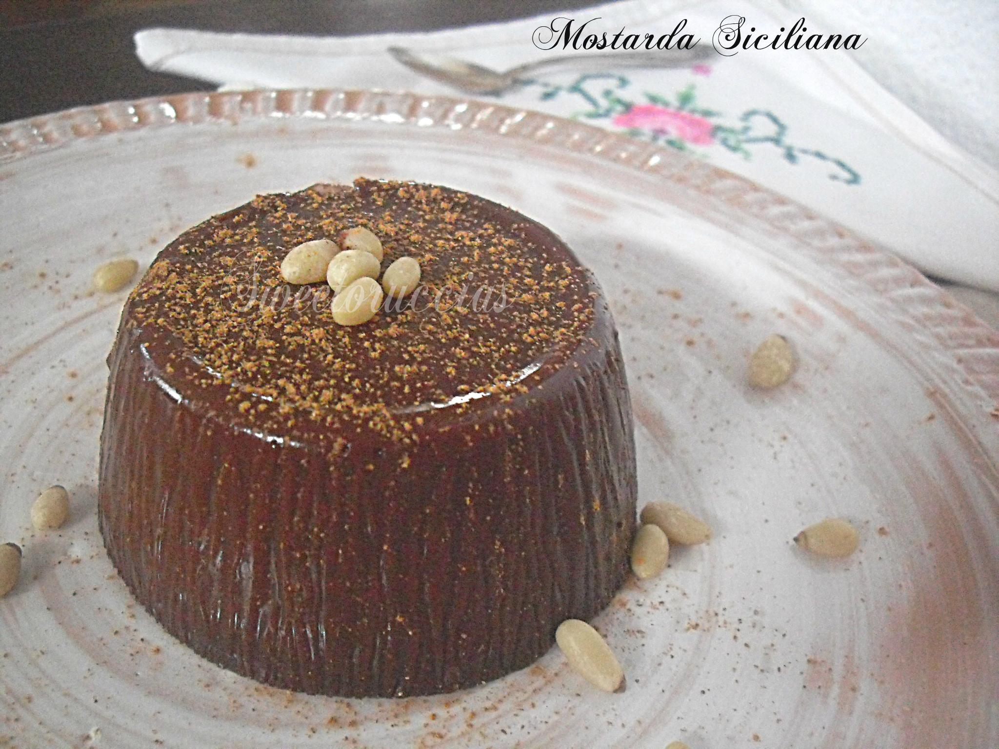 Mostarda Siciliana ricetta di famiglia
