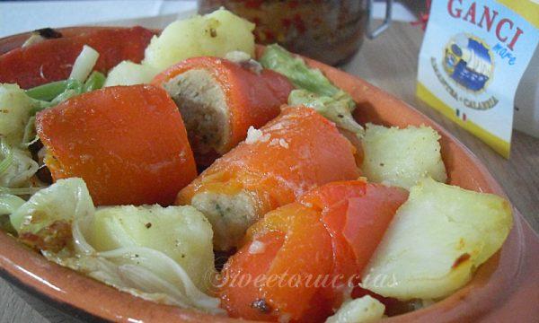 Involtini di peperoni ricetta saporita