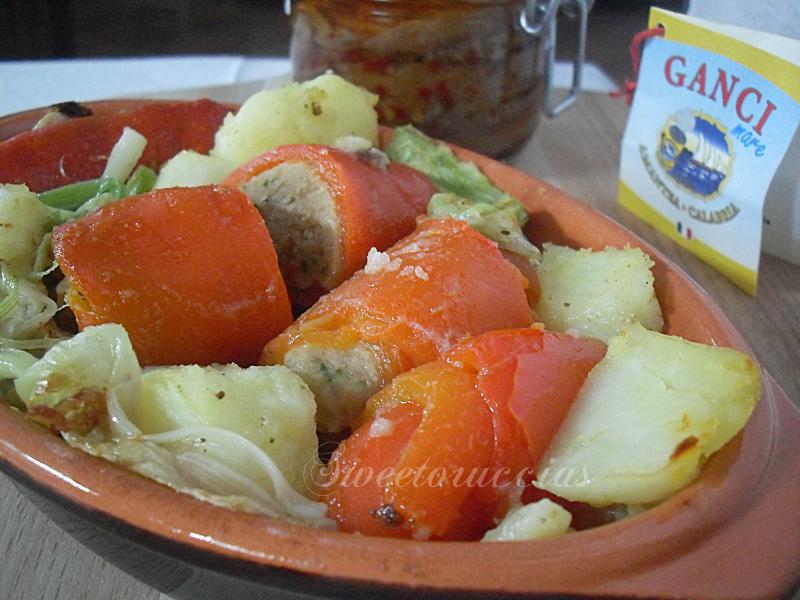 Involtini di peperoni ricetta saporita sweetoruccias