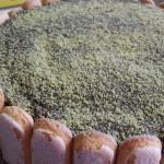 Torta con mascarpone e ganache al cioccolato