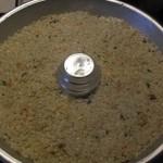 Corona di riso al salmone e pistacchio