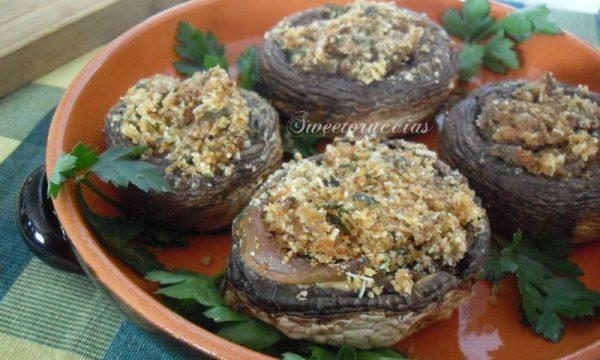 Ricetta funghi champignon ripieni