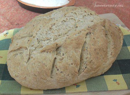 Pane con farina di soia ed integrale