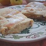 Strudel di mele con pasta alla ricotta