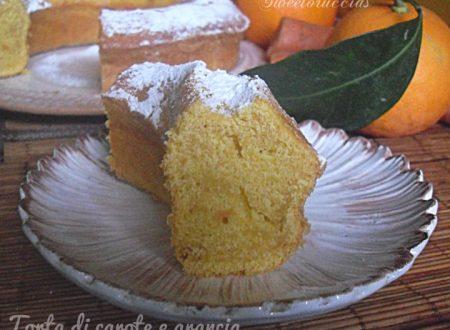 Torta di carote ed arancia senza mandorle
