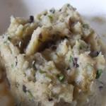 Involtino di radicchio con patate aromatizzate