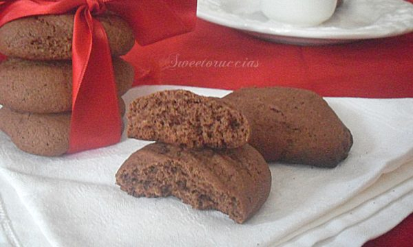 Biscotti al cioccolato con farina di timilia