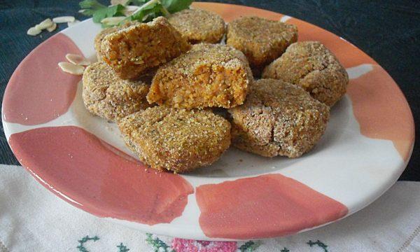 Polpette di zucca alle mandorle ricetta vegana