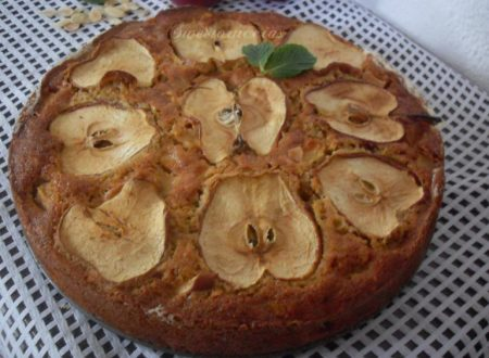 Torta di mele con farina di timilia e mandorle